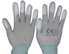 ESD Nylon PU Top Fit Gloves